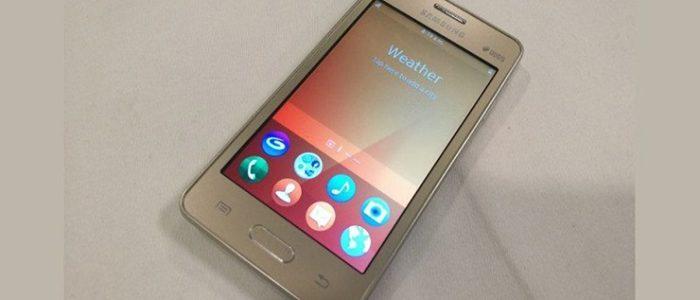 Tizen Samsung Z2