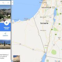 Mappa Palestina su Google Maps