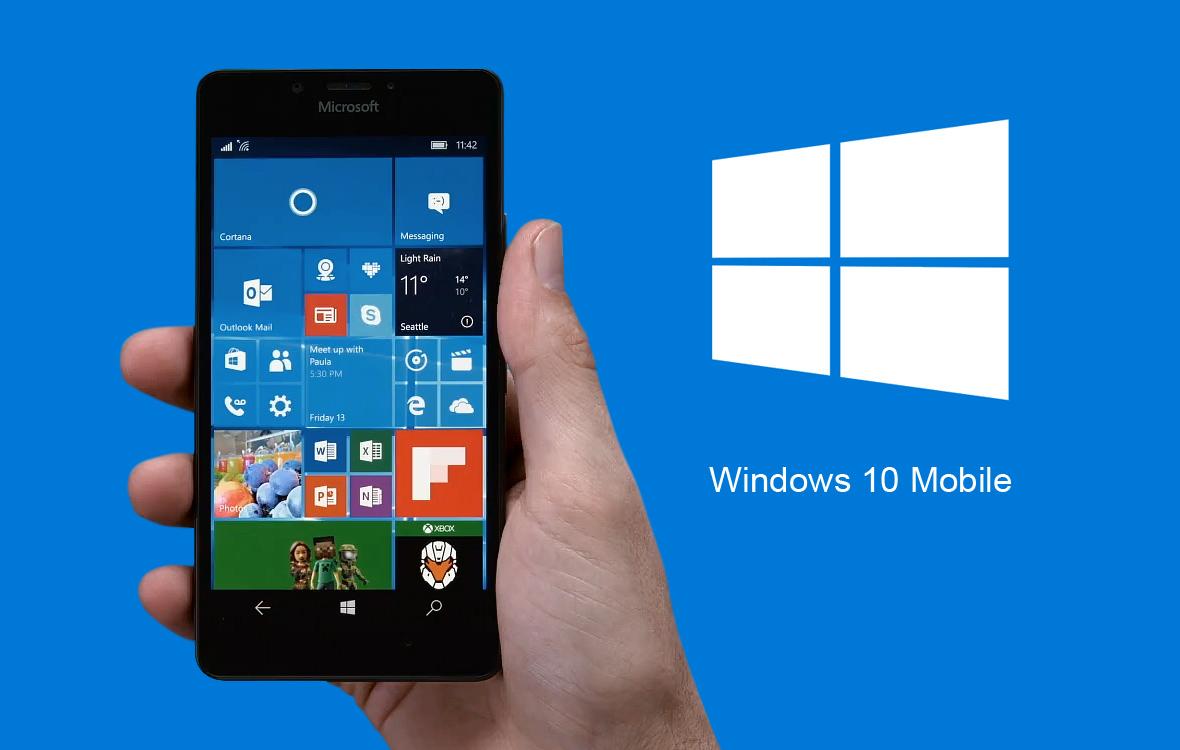 Uscita Windows 10 Mobile Anniversary Update
