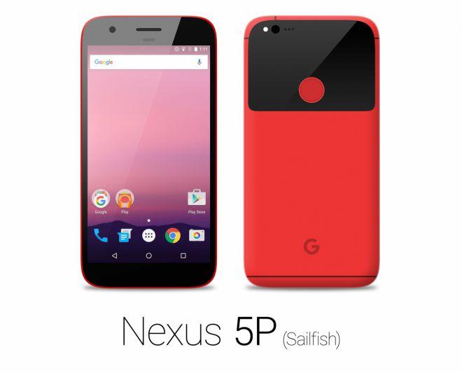 HTC Nexus 5P Sailfish