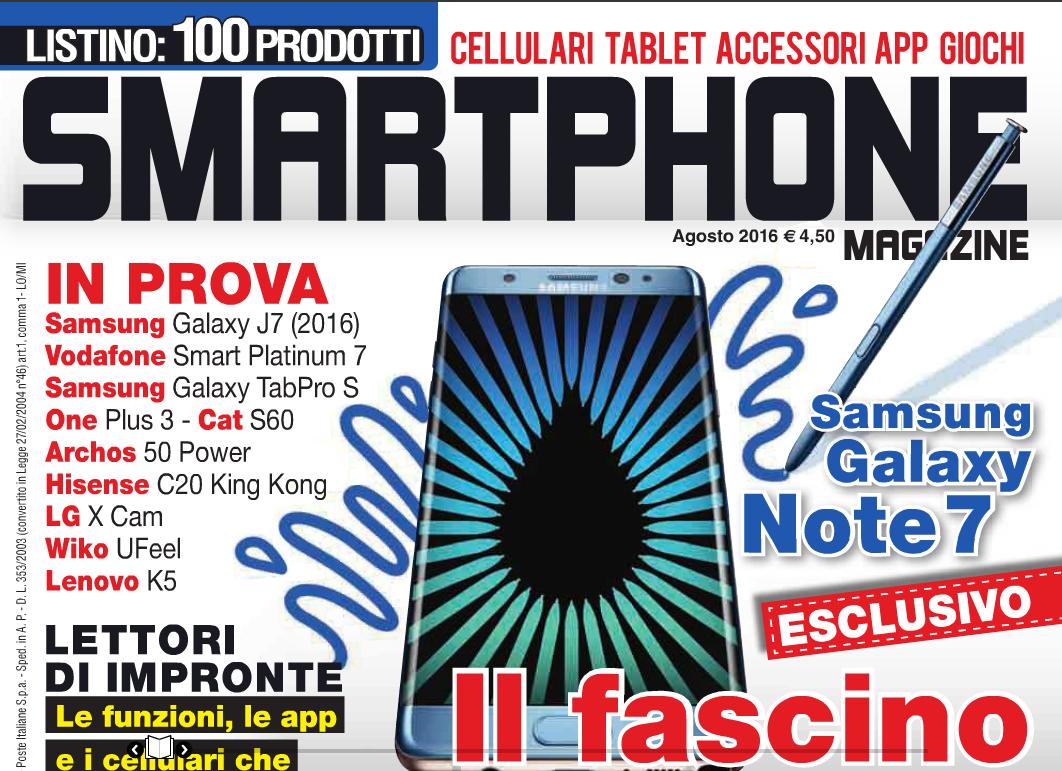 Smartphone Magazine agosto 2016