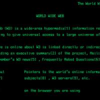 primo sito internet web
