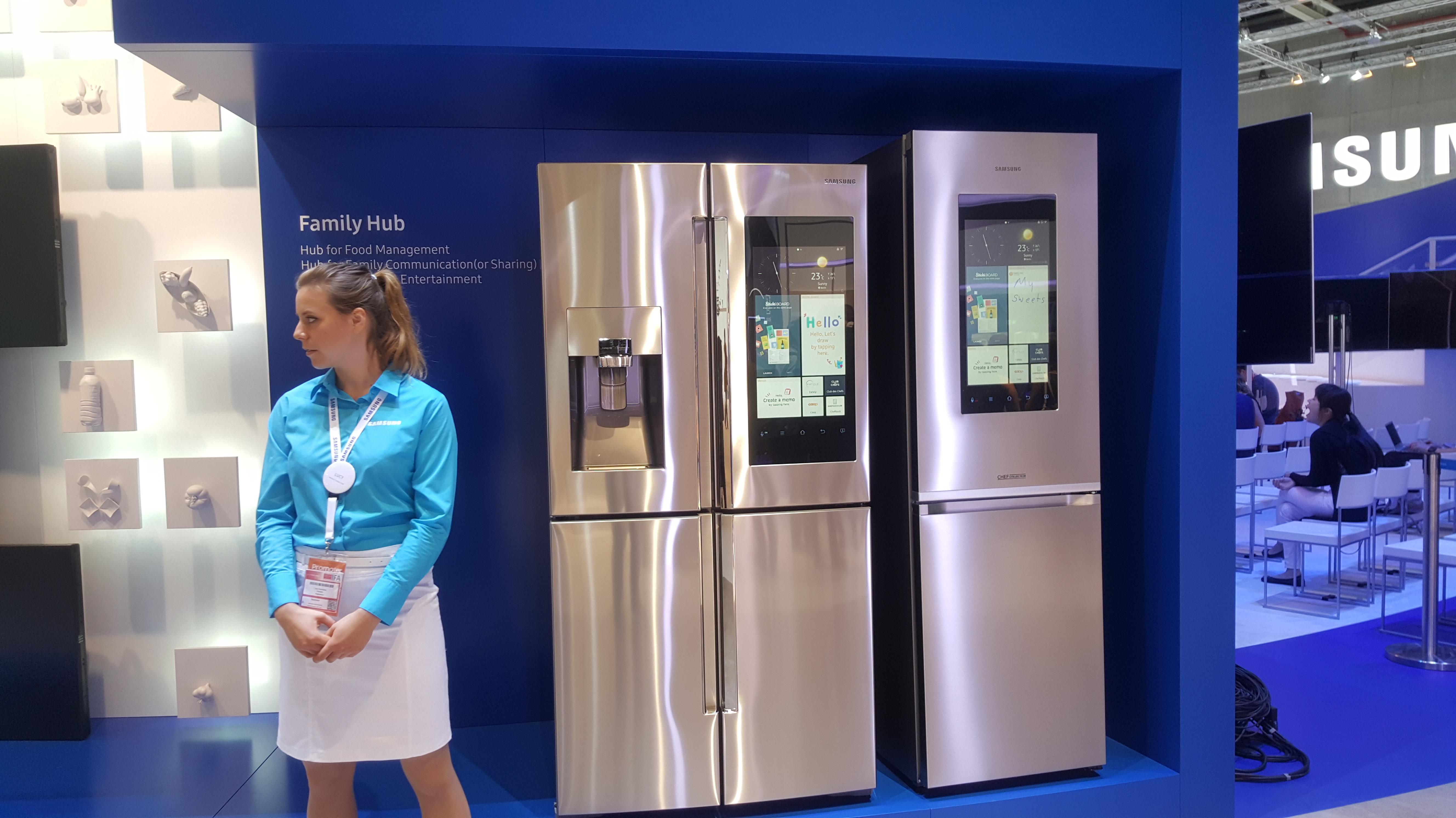 Samsung Family Hub, il frigorifero diventa smart - Cellulare ...