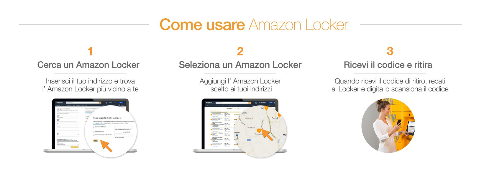 Amazon locker come funziona