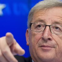 Il presidente della Commissione Europea, Junker