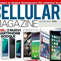 Copertina Cellulare Magazine novembre 2016