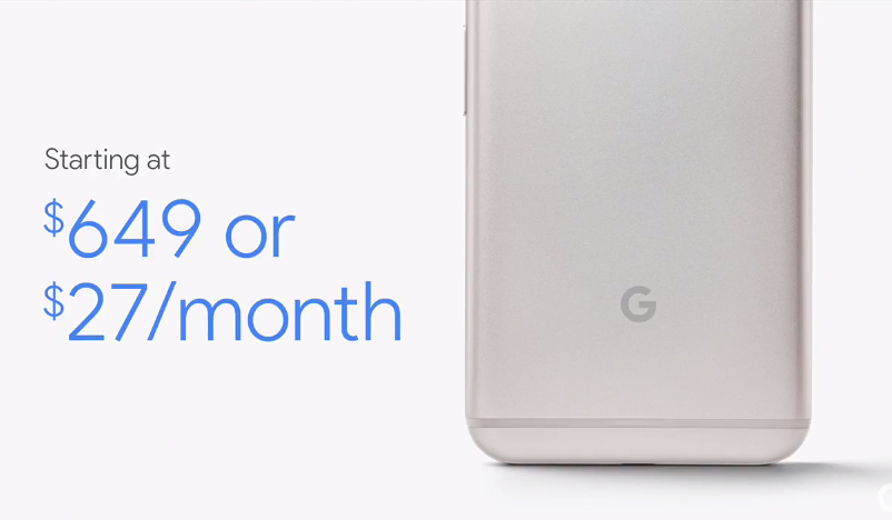 Google Pixel prezzi