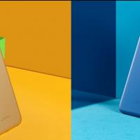 Meizu M5 blu e oro