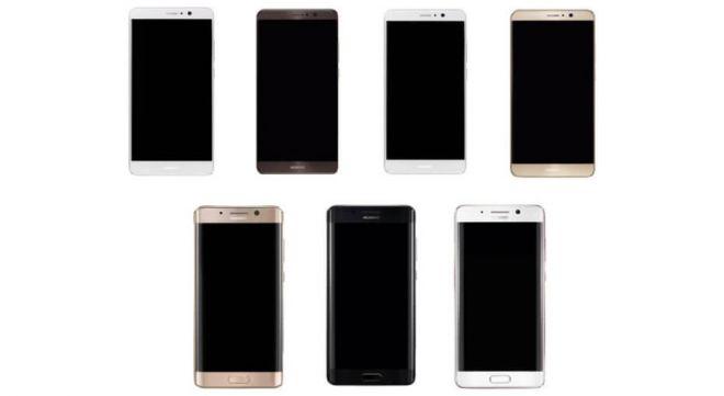 Huawei mate 8 render