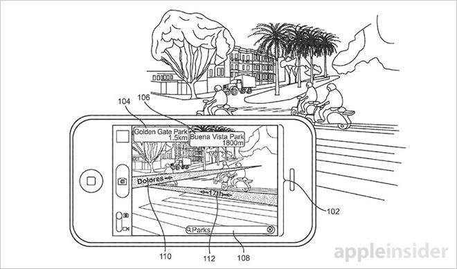 Brevetto Apple sulla mappatura in realtà aumentata