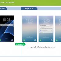 Nougat su Galaxy S7 novità 8