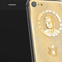 iPhone Donald Trump dorato