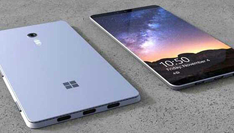 Concept di un prototipi di Surface Phone