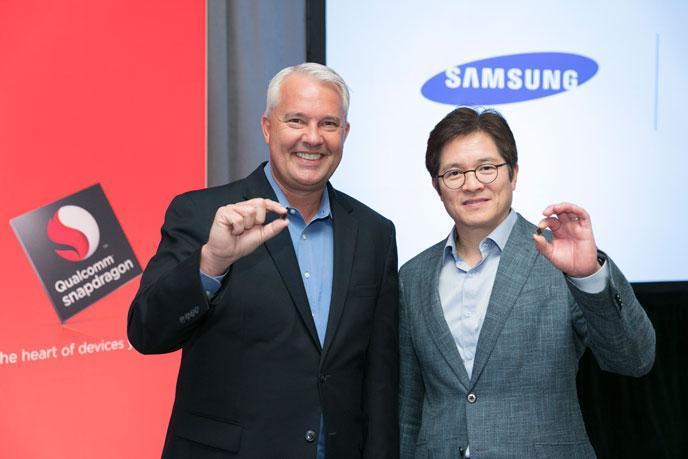Qualcomm e Samsung per il processore Snadpragon 835
