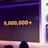 Slide con le vendite di Huawei P9