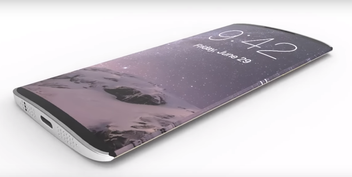 Un concept del nuovo iPhone 8