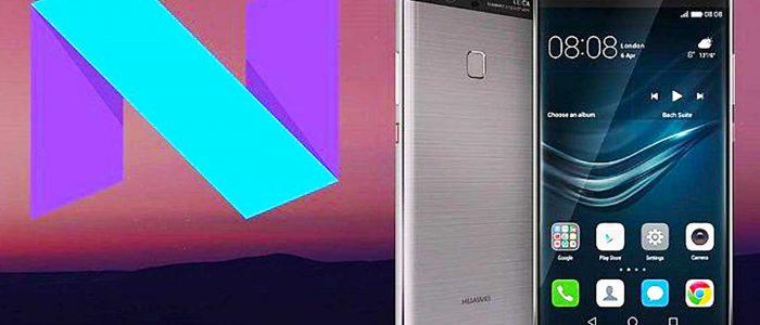 Android 7.0 Nougat su P9 Plus