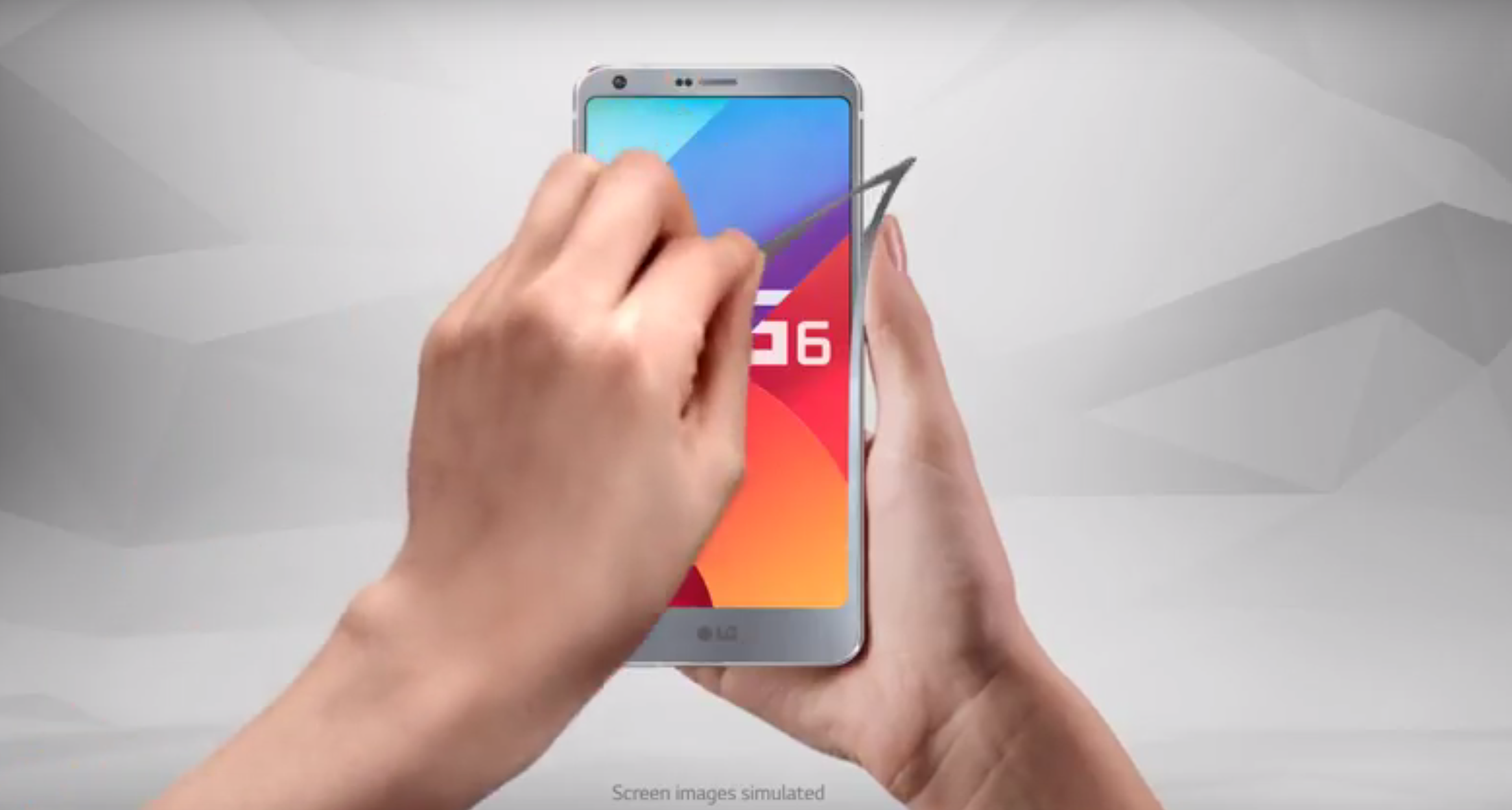 LG G6 prima e dopo