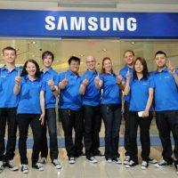 Team controllo qualità Samsung