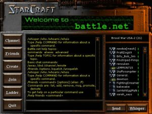 Starcraft battle.net