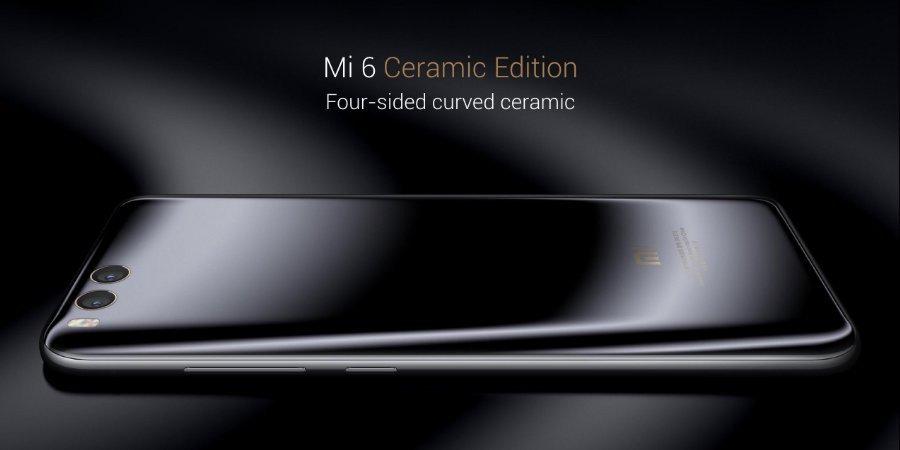 Xiaomi Mi 6 versione in ceramica
