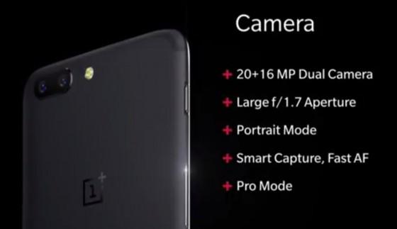 Fotocamera OnePlus 5