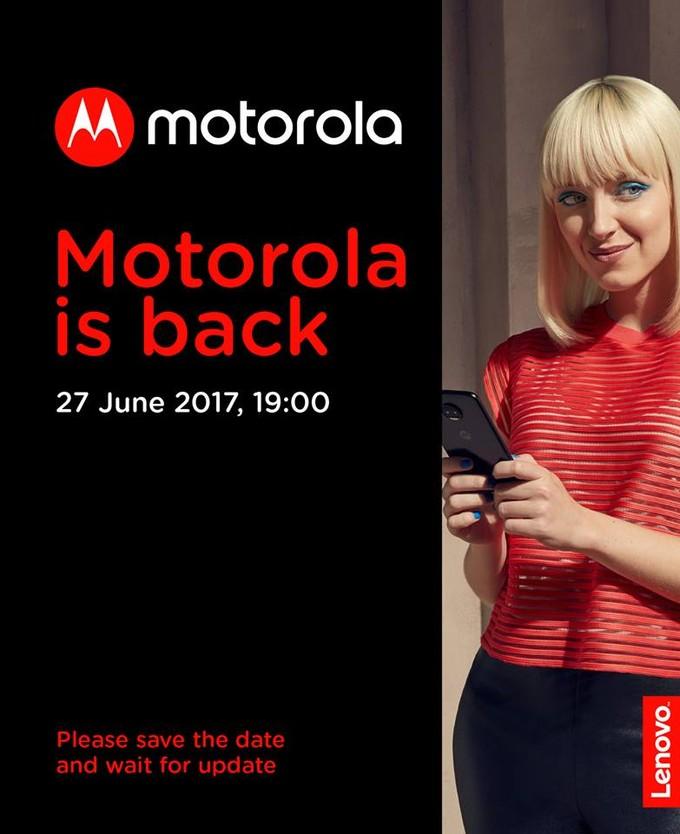Invito Lenovo Moto Z2