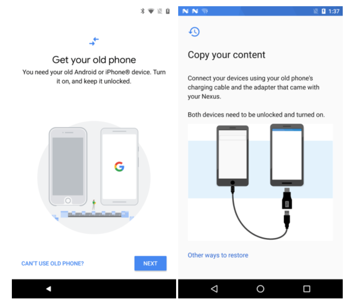 Data Transfer Tool sul Play Store