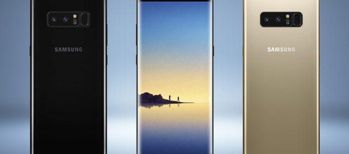 Samsung Galaxy Note 8 anteprima