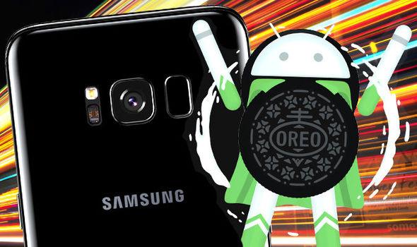 Samsung Galaxy S8 Android 8.0 Oreo