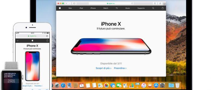 Apple app su ios e mac