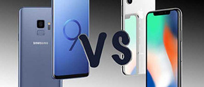 Galaxy S9 vendite iPhone X