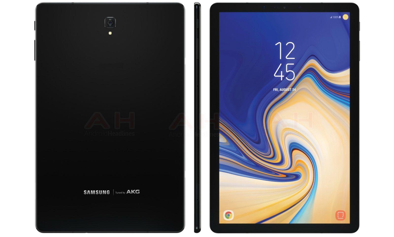 Samsung Galaxy Tab S4 leaked foto