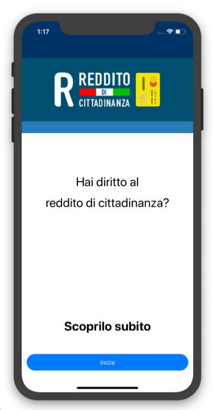 reddito di cittadinanza app