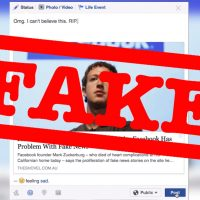 Facebook fake news