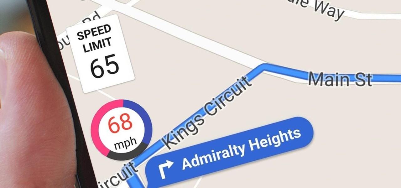 Google maps velocità