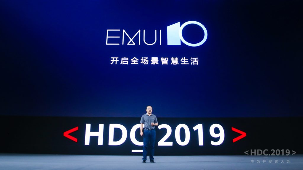 interfaccia EMUI 10