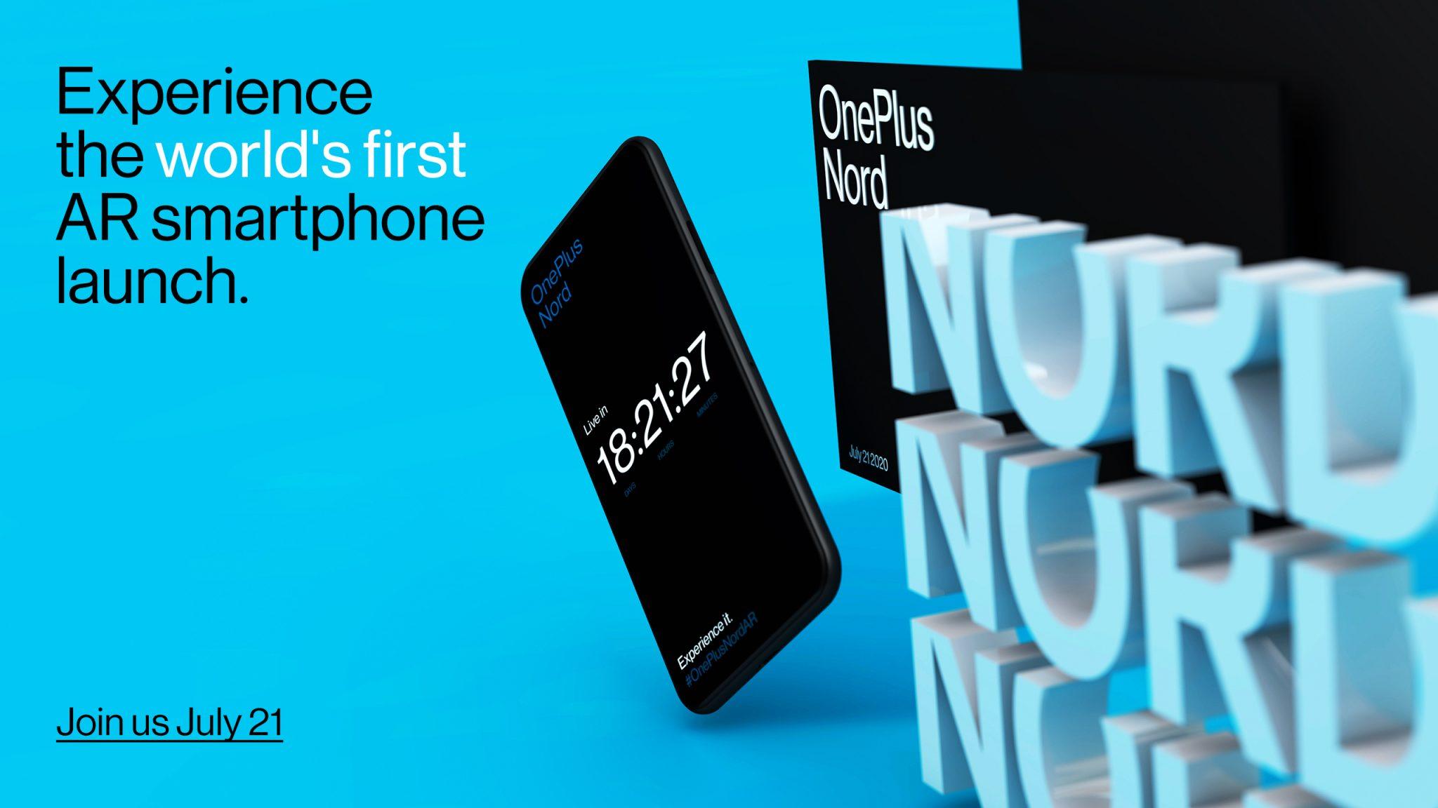 OnePlus Nord sarà ufficiale il 21 luglio con quattro fotocamere posteriori e due anteriori