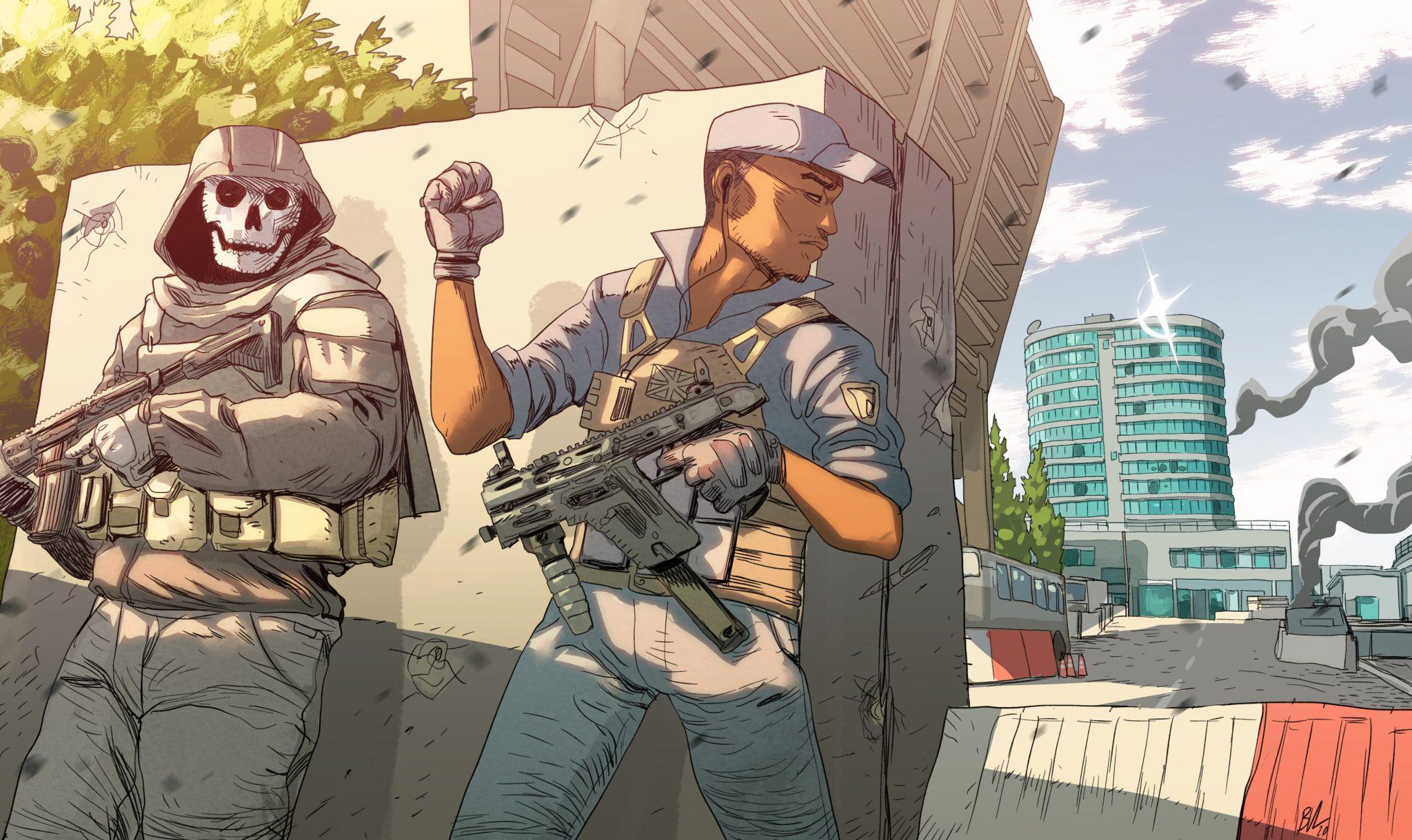 Call of Duty: Modern Warfare, quattro artisti per la quarta stagione