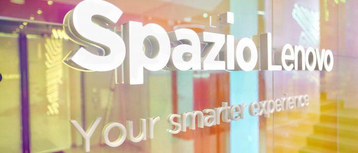 Spazio Lenovo Opening Show