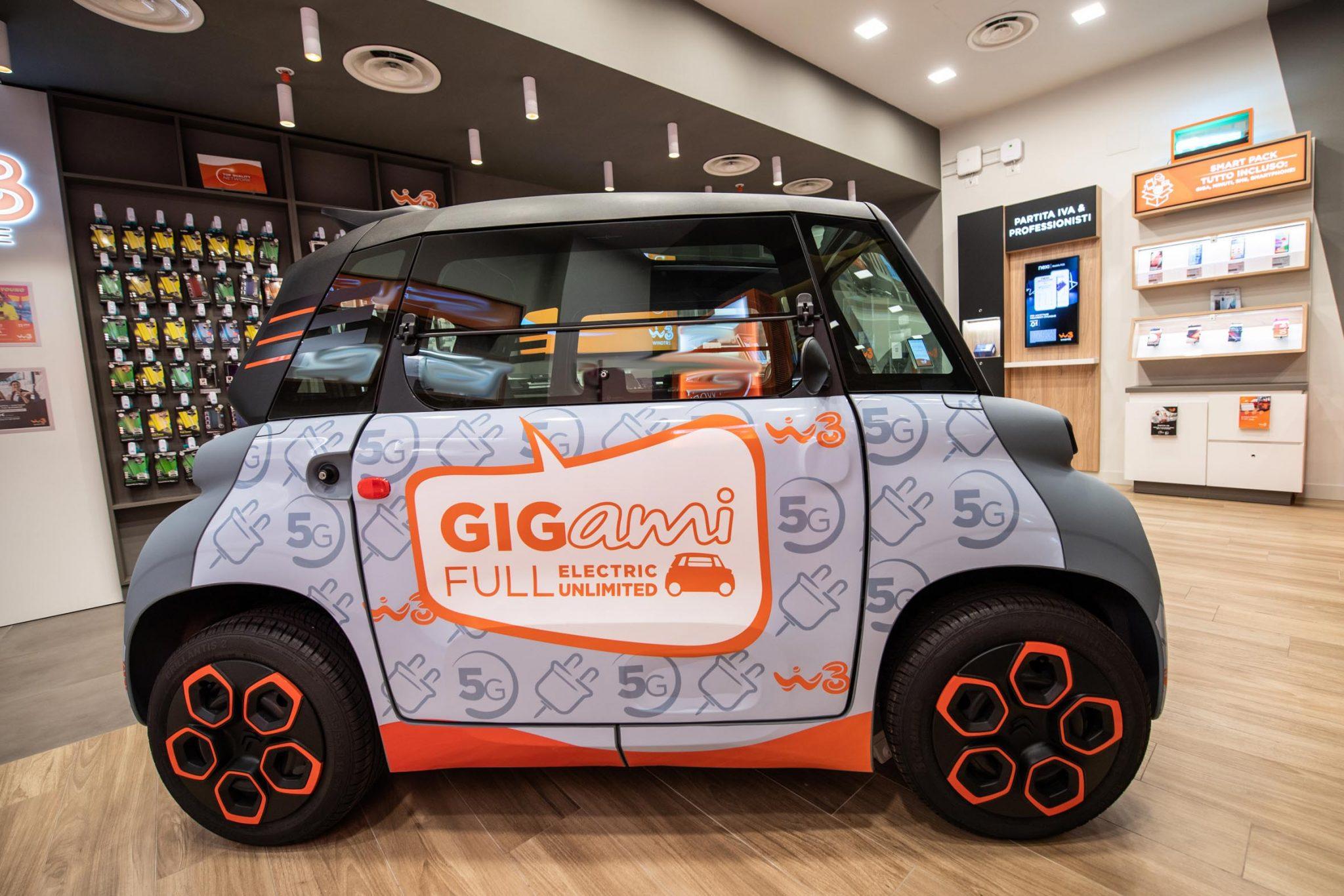 Citroën e Windtre insieme per il lancio del quadriciclo Ami-100% Electric