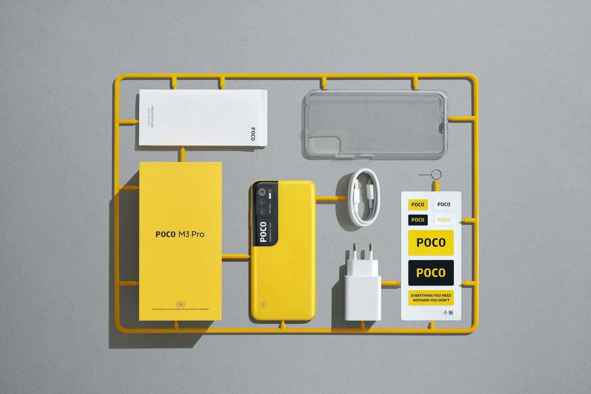 Poco M3 Pro 5G: tanta potenza e connettività veloce a meno di 160 euro