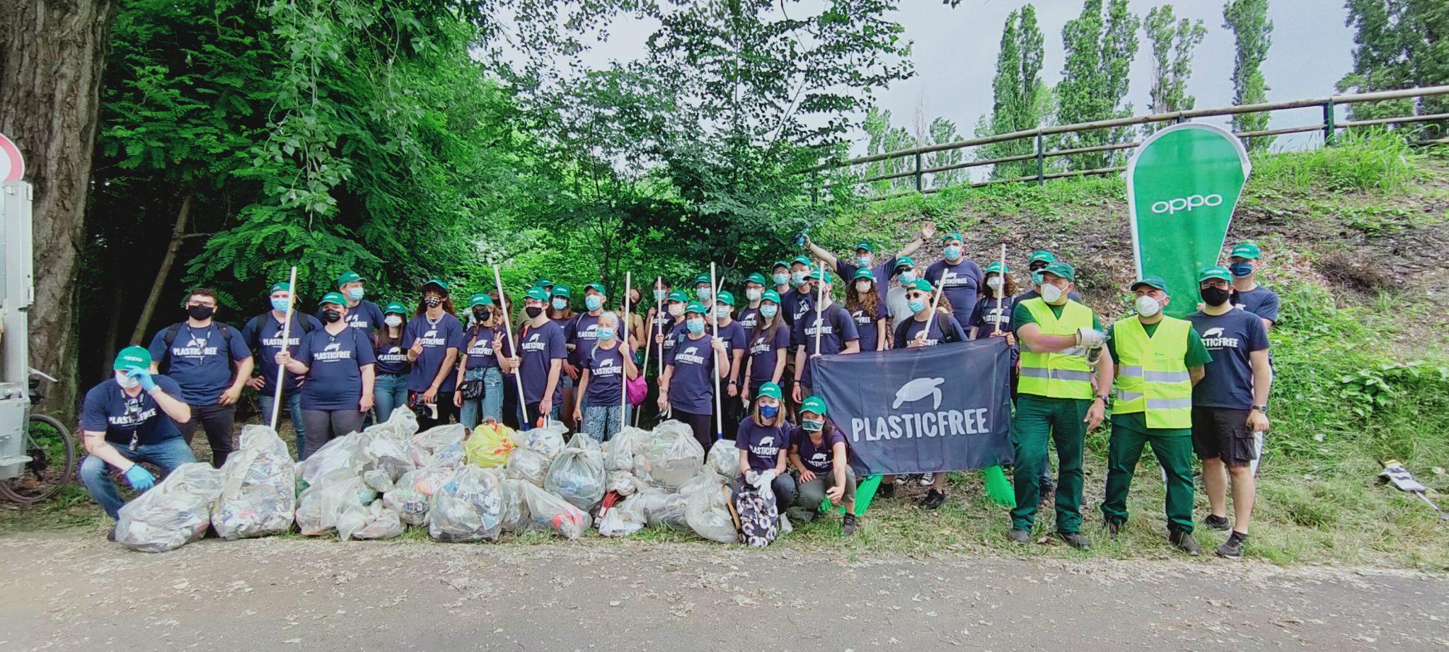OPPO in prima linea contro l'inquinamento delle plastiche