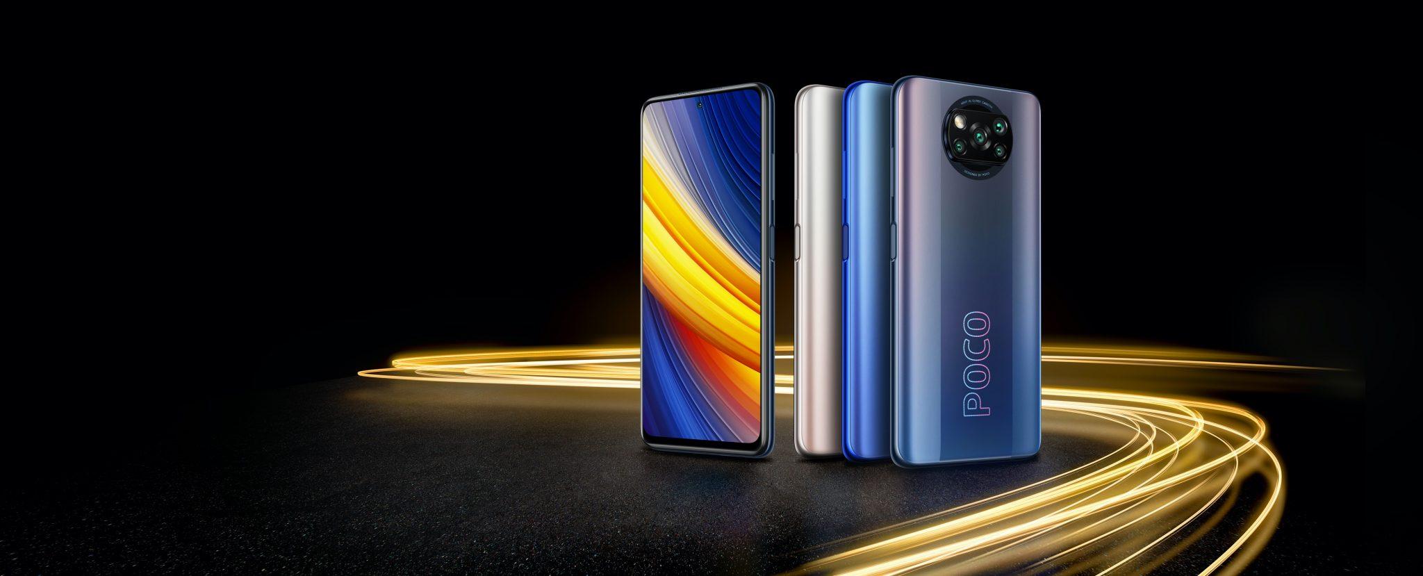 Gli smartphone POCO entrano in Unieuro con i modelli F3 e X3 Pro